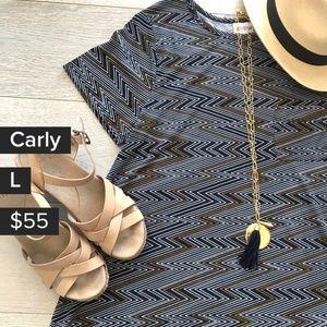 Black & Green dress 🖤 Lularoe Carly